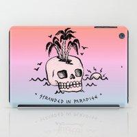 STRANDED IN PARADISE iPad Case