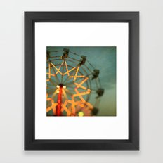 Double Trouble Framed Art Print