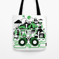 O is for Oregon Tote Bag
