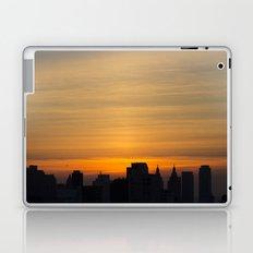 skyline brushstrokes Laptop & iPad Skin
