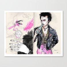 Sid vicious Canvas Print