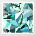 Colorflash 8 mint Art Print