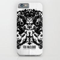 Fox McCloud Star Fox Inspired Geek Psychological Inkblot iPhone 6 Slim Case
