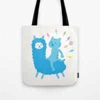 Alpaca Rider Tote Bag