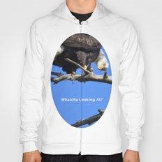 Alaskan Bald Eagle - Quizzical Hoody