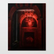 Canvas Print featuring Witching Hour In The Hou… by Simone Gatterwe