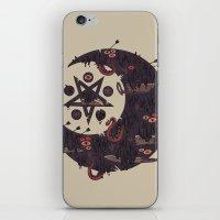 The Dark Moon Compels Yo… iPhone & iPod Skin