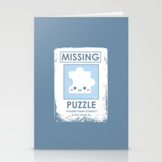 The Missing Puzzle Stationery Cards