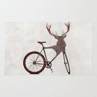 Stag Bike Rug