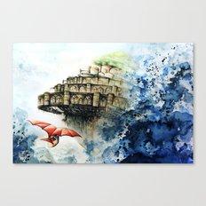 Tribute to Ghibli : Laputa Canvas Print