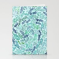 Wild Scattered Branches Stationery Cards