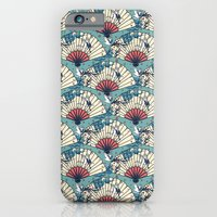 iPhone & iPod Case featuring Oriental FanTasy by Paula Belle Flores