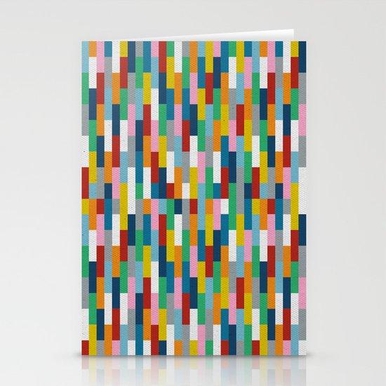 Bricks Rotate #2 Stationery Card