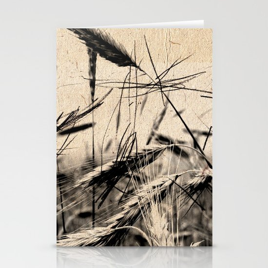 DRESSED GRAIN Stationery Card