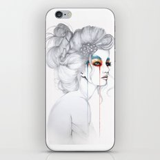 The Girl // Fashion Illustration iPhone & iPod Skin