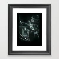 X-ray Of Perfume Framed Art Print