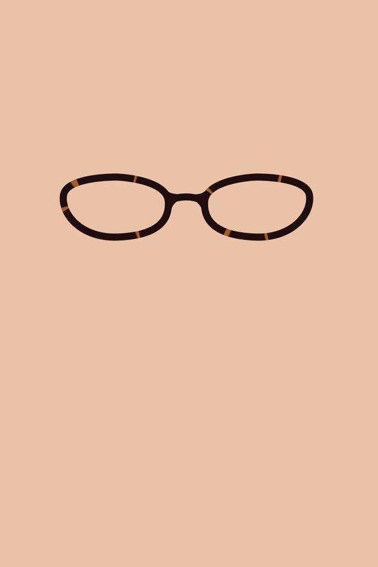 Liz Lemon Glasses Art Print