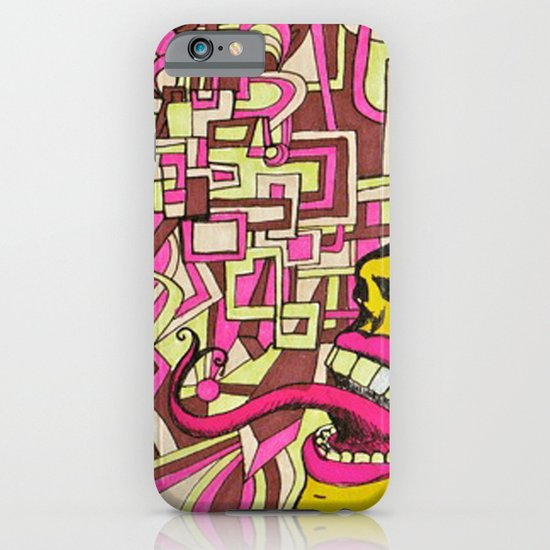The Most Gigantic Lying Mouth iPhone & iPod Case