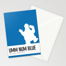 No29 My Minimal Color Code poster Cooky Stationery Cards