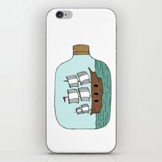 Ship in a Bottle iPhone & iPod Skin