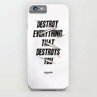 iPhone & iPod Case featuring Destroy by WRDBNR