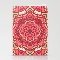 Abstract Mandala Flower Decoration 16 Stationery Cards