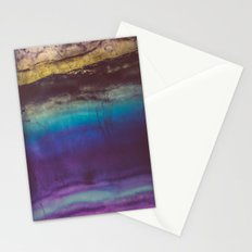 Bohemian Blue Earth  Stationery Cards