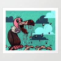 I ate your guts! Art Print