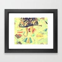 A Tisket A Tasket Framed Art Print
