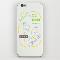 Haikuglyphics - Haikanic… iPhone & iPod Skin