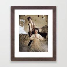 Snegurochka Framed Art Print