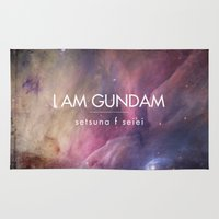 Gundam Retro Space 2 Rug