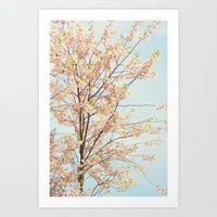 Blooming Nature Art Print