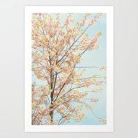 Blooming Nature Art Print