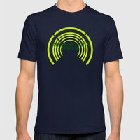 Listen Mens Fitted Tee Navy SMALL