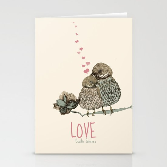 LOVE Stationery Card