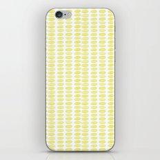 Yellow dots iPhone & iPod Skin