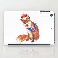 QUEEN's JUBILEE Fox - 8x10 inches iPad Case