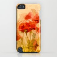 iPhone & iPod Case featuring Fiery Poppies In A Golde… by UtArt