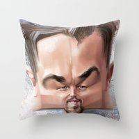Leonardo Dicaprio Throw Pillow