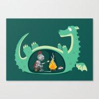 Indigestion Canvas Print