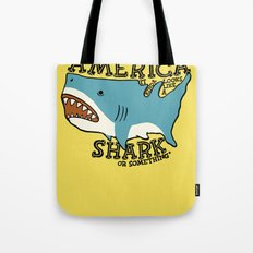 America…   it kinda looks like a shark or something Tote Bag