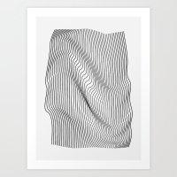 Minimal Curves Art Print