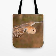 Barn Owl in Flight Tote Bag