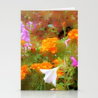 Every little garden seems to whisper a tune Stationery Cards