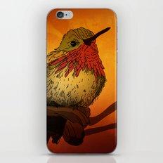The Sunset Bird iPhone & iPod Skin