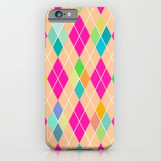 Colorful Geometric V iPhone 6 Slim Case