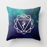 Manipura Chakra Throw Pillow
