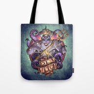 Tote Bag featuring SEA WITCH by Tim Shumate