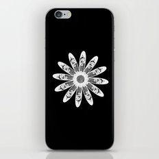 White lace iPhone & iPod Skin